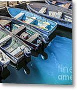 Boats At Bar Harbor Maine Metal Print by Diane Diederich