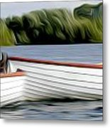 Boats Metal Print by Stefan Petrovici