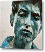 Bob Dylan Metal Print by Paul Lovering