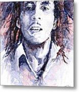 Bob Marley 3 Metal Print by Yuriy  Shevchuk