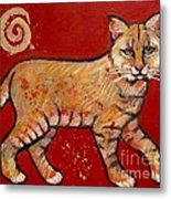 Bobcat Metal Print by Carol Suzanne Niebuhr