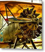 Boeing 100p Fighter Metal Print by David Patterson