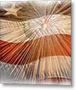 Bombs Bursting In Air Metal Print by Heidi Smith