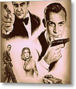 Bond The Golden Years Metal Print by Andrew Read