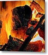 Bonfire  Metal Print by Chris Berry