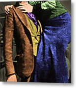 Bonnie And Clyde 20130515 Long Metal Print by Wingsdomain Art and Photography