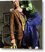 Bonnie And Clyde 20130515 Metal Print by Wingsdomain Art and Photography