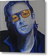 Bono U2 Metal Print by Eric Dee