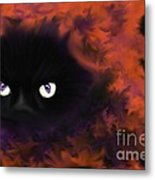Boo Metal Print by Roxy Riou