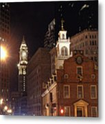 Boston History Metal Print by Joann Vitali