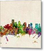 Boston Skyline Metal Print by Michael Tompsett