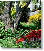 Botanical Landscape 2 Metal Print by Eunice Miller