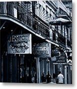 Bourbon Street New Orleans Metal Print by Christine Till