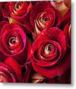 Boutique Roses Metal Print by Garry Gay