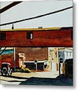 Box Factory Metal Print by Edward Hopper