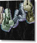 Boxing Gloves Metal Print by Tony Rubino