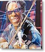 Boyd Tinsley And 2007 Lights Metal Print by Joshua Morton
