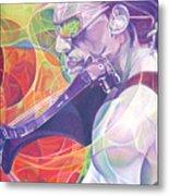Boyd Tinsley And Circles Metal Print by Joshua Morton