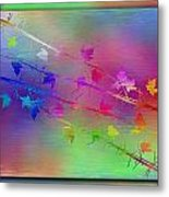 Branches In The Mist 17 Metal Print by Tim Allen