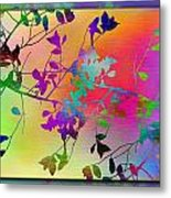 Branches In The Mist 22 Metal Print by Tim Allen