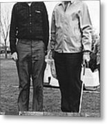 Brattain And Bardeen, Us Physicists Metal Print by Science Photo Library