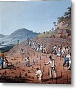 Breaking Up The Land, From Ten Views Metal Print by William Clark