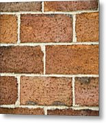 Brick Wall Metal Print by Frank Tschakert