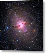 Bright Galaxy Centaurus A Metal Print by Paul Fearn