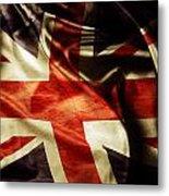 British Flag  Metal Print by Les Cunliffe