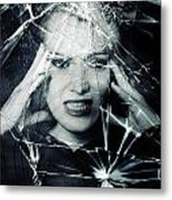 Broken Window Metal Print by Joana Kruse