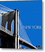Brooklyn Bridge Metal Print by DB Artist