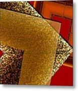 Brownish Design Metal Print by Mario Perez