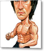 Bruce Lee Metal Print by Art