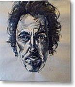 Bruce Springsteen Metal Print by Dan Engh