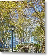 Bryant Park Afternoon Metal Print by Richard Trahan