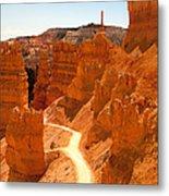 Bryce Canyon Trail Metal Print by Jane Rix