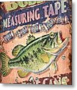 Bubba Measuring Tape Metal Print by JQ Licensing