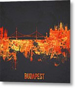 Budapest Hungary Metal Print by Aged Pixel