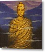 Buddha. Passing Clouds Metal Print by Vrindavan Das
