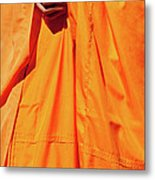 Buddhist Monk 02 Metal Print by Rick Piper Photography