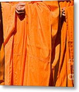 Buddhist Monks 03 Metal Print by Rick Piper Photography