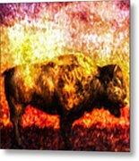 Buffalo Metal Print by Bob Orsillo