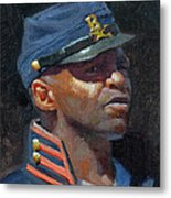 Buffalo Soldier Metal Print by Armand Cabrera