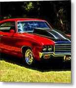 Buick Gsx Metal Print by motography aka Phil Clark
