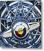 Buick Skylark Wheel Metal Print by Jill Reger