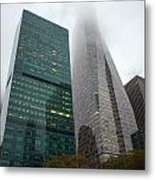 Buildings In Bryant Square Ny Metal Print by Denise Thompson