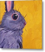 Bunny Metal Print by Nancy Merkle
