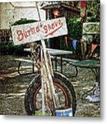 Burma Shave Sign Metal Print by RicardMN Photography