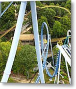 Busch Gardens - 121226 Metal Print by DC Photographer