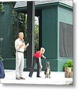 Busch Gardens - Animal Show - 121215 Metal Print by DC Photographer